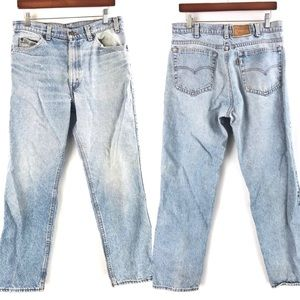 Levi's Two Horse Brand | Vtg Distressed Blue Jeans